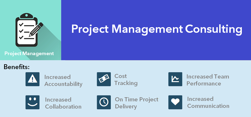 Brochure Project Management Consulting Header